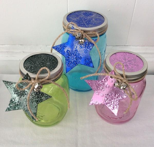 Stefanie Girard Crafter's COmpanion, recycled Mason jar