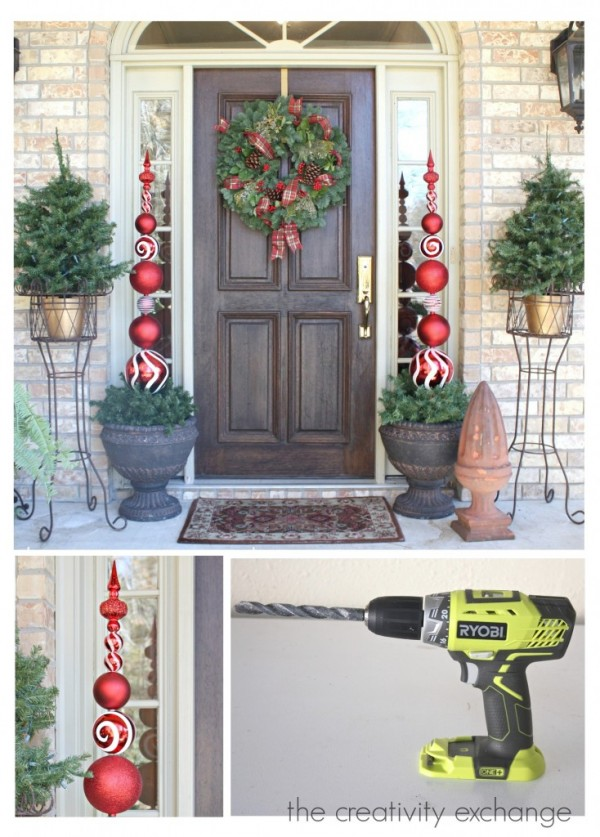 How to make an ornament topiary