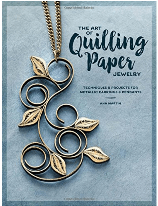 Giveaway-The Art of Quilling Paper Jewelry