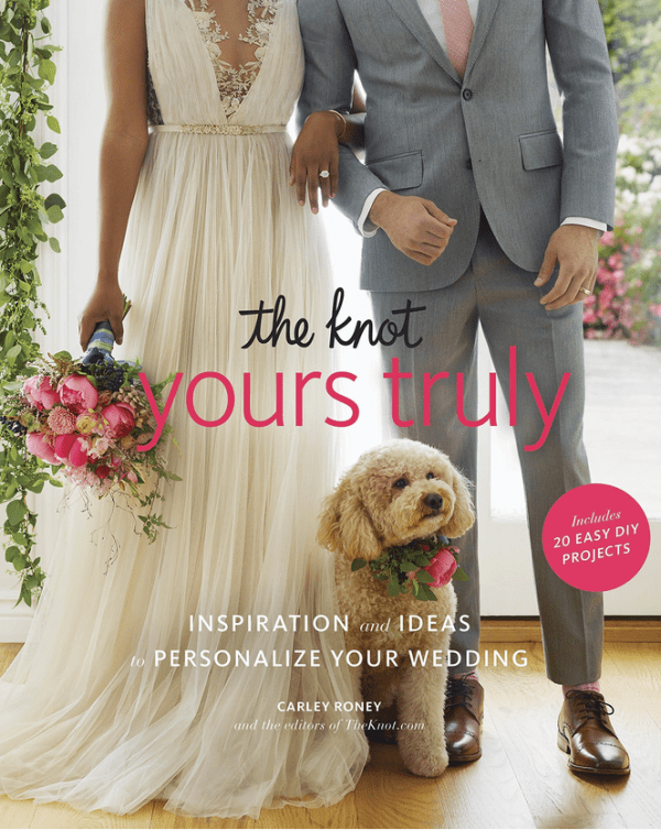 Giveaway- The Knot Yours Truly: Inspiration and Ideas to Personalize Your Wedding
