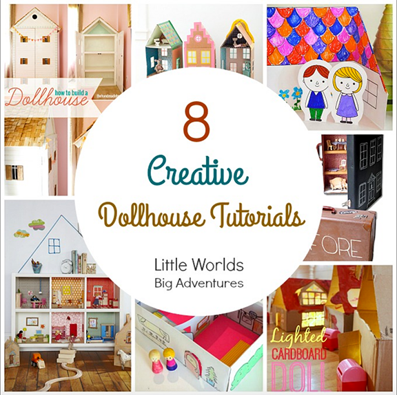 8 recycled Dollhouse Tutorials