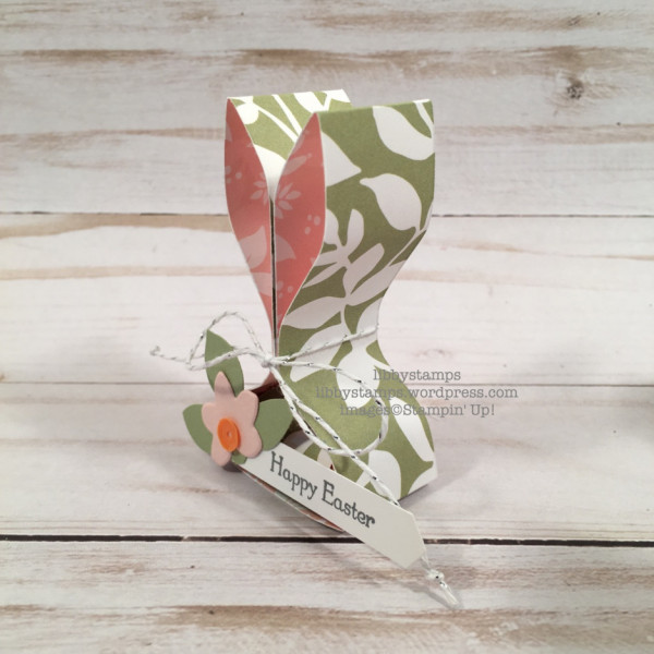 How to make paper bunny favors