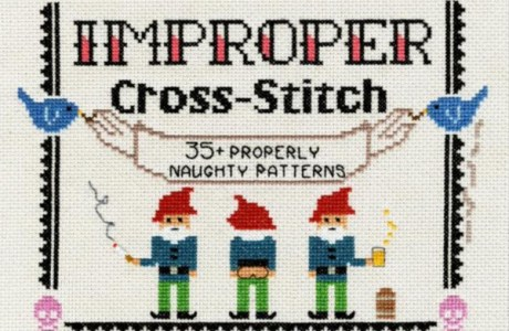Giveaway-Improper Cross-Stitch: 35+ Properly Naughty Patterns