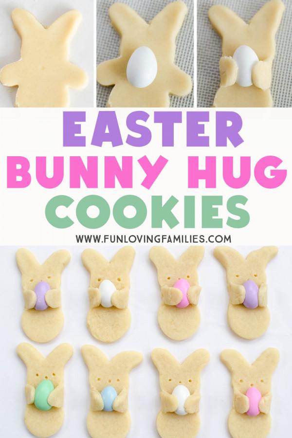 "Flip a ""boy"" shaped cookie cutter to make a bunny shape"