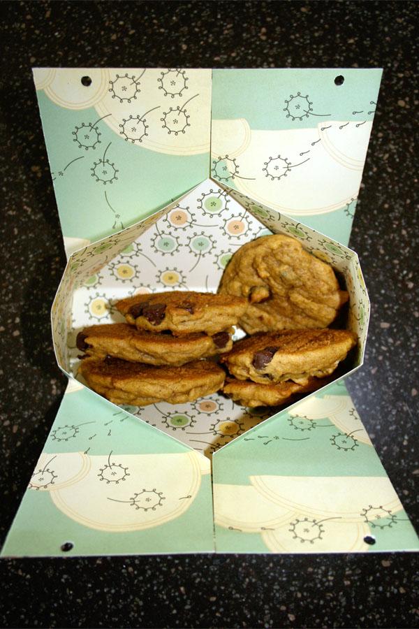 How to fold an easy treat bag