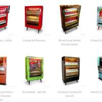 Amazing original art sold in recycled cigarette machines by Art-o-mat