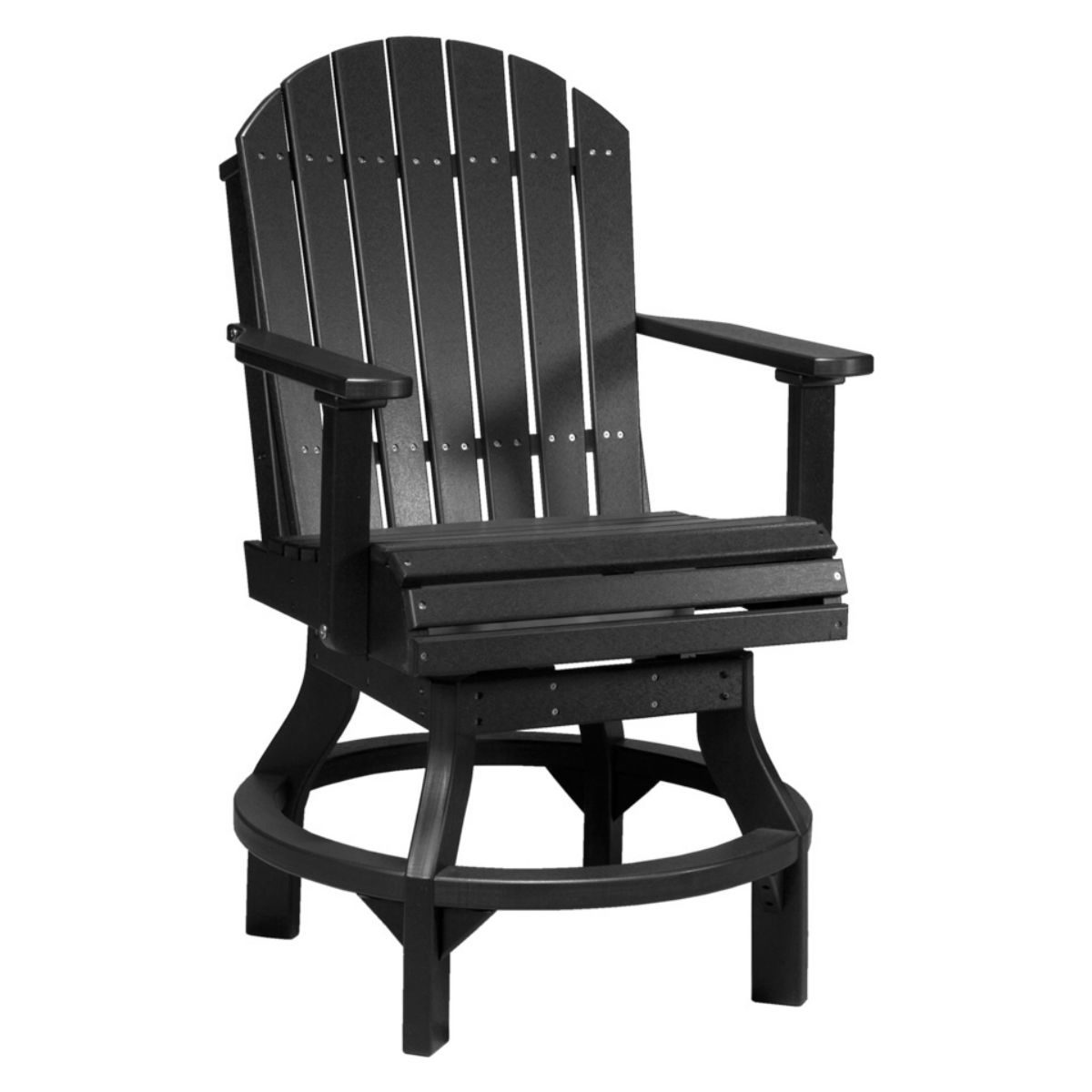 Counter Chair Adirondack Swivel Counter Chair