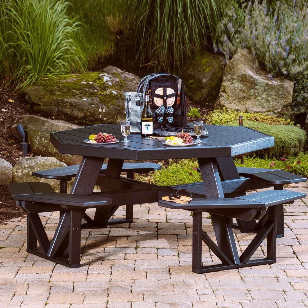 luxury recycled plastic patio furniture