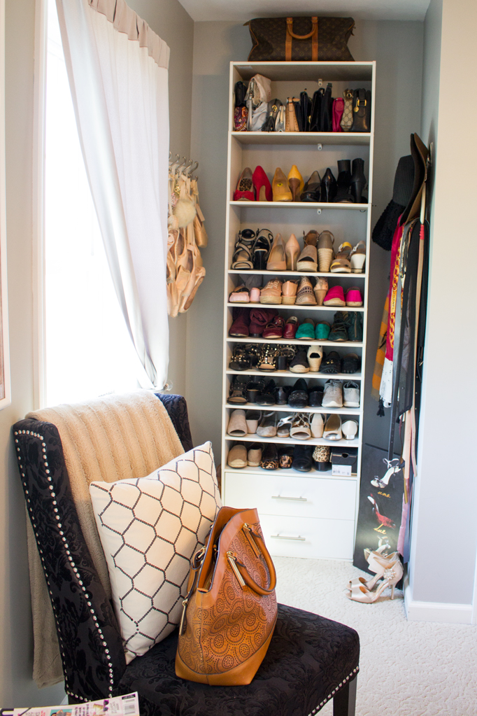 Shoe Storage DIY for Under $100