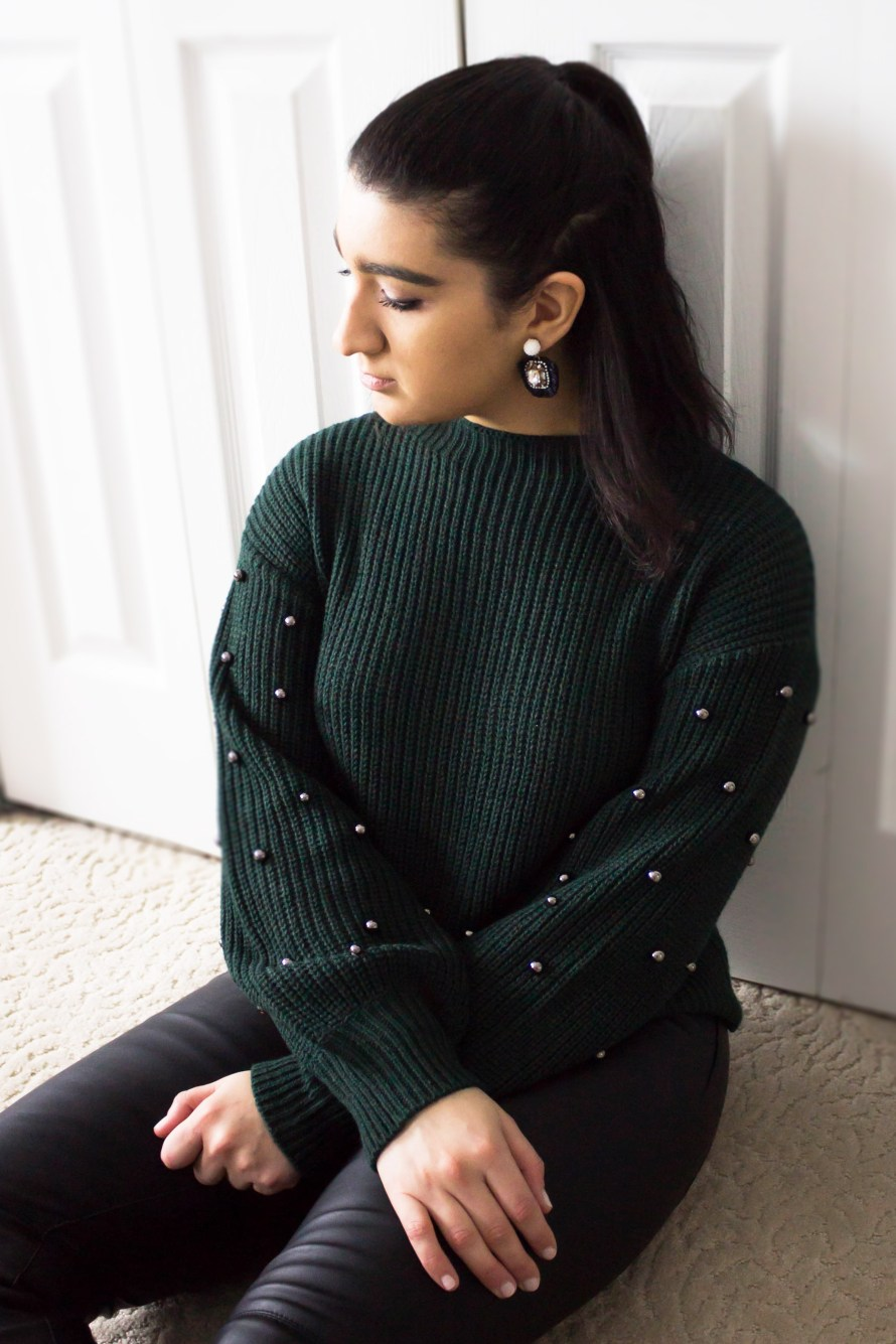 The Perfect Holiday Sweater from JcPenney and Poshmark Update