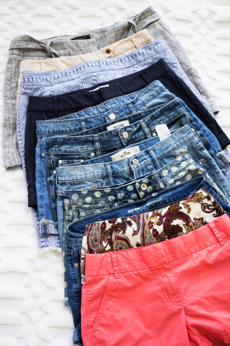 Summer Shorts Haul from Thrifty Shopper