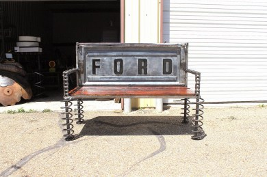 Custom Made Garden Truck Tailgate Bench Outdoor Furniture