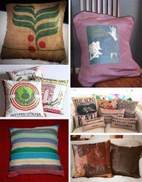 Eco-Rehash: How to Make Recycled Throw Pillows in a Flash ...