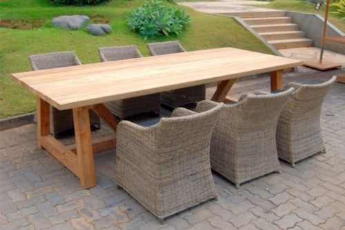 Reclaimed Teak Outdoor Furniture