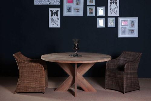 round teak table furniture