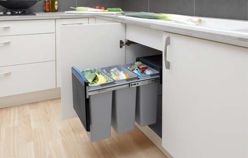 Recycling Bins For Home & Kitchen