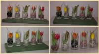 Dekorations-Ideen: Tulpen im Glas  Recyclingkunst und der ...
