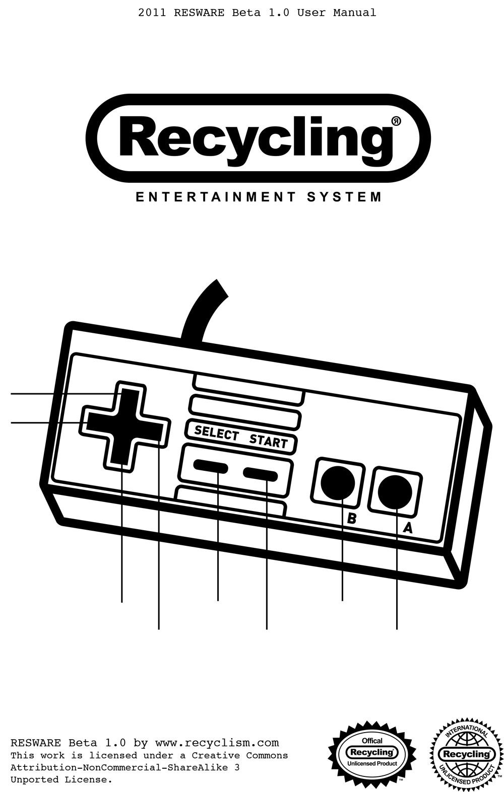 Recyclism The Recycling Entertainment System Mini