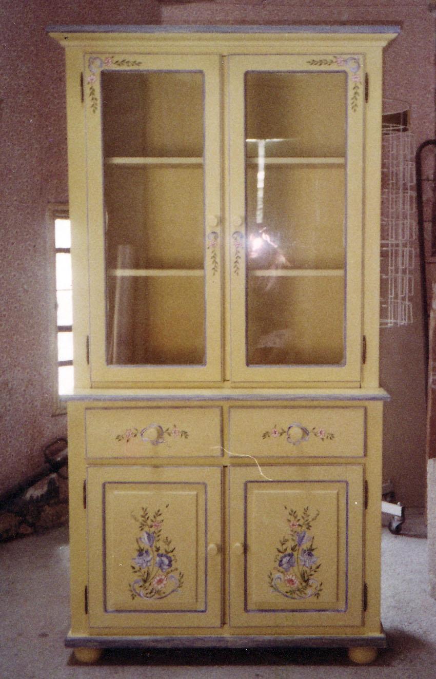 alacenas  RECYDECOR muebles pintados a manomuebles vintage