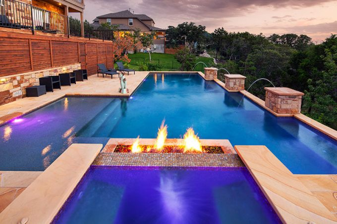 Backyard Pool And Hot Tub Ideas