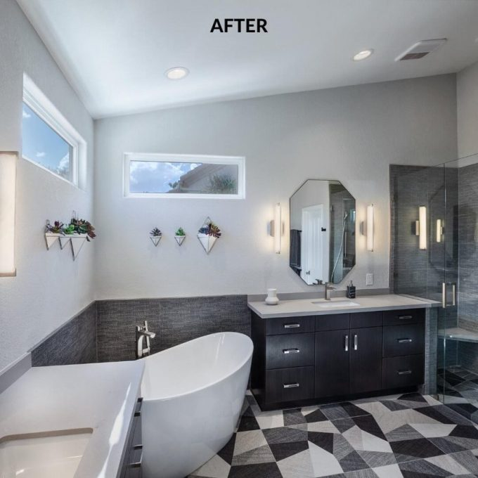 bathroom master before and after