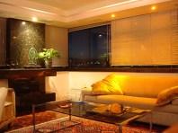 Projeto de Arquitetura de Interiores sala de estar.