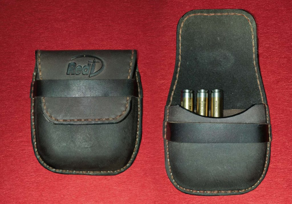 Leather ammo pouch