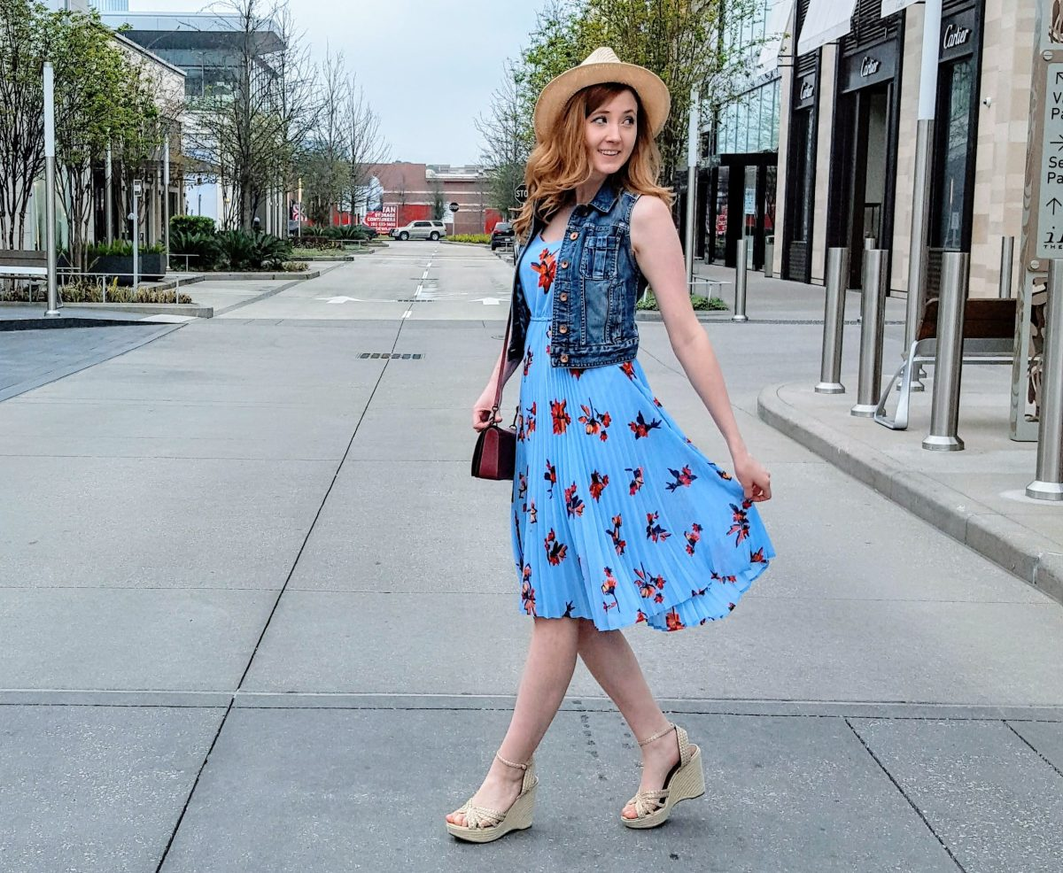 Sunny Day Florals & The Perfect Spring Dress