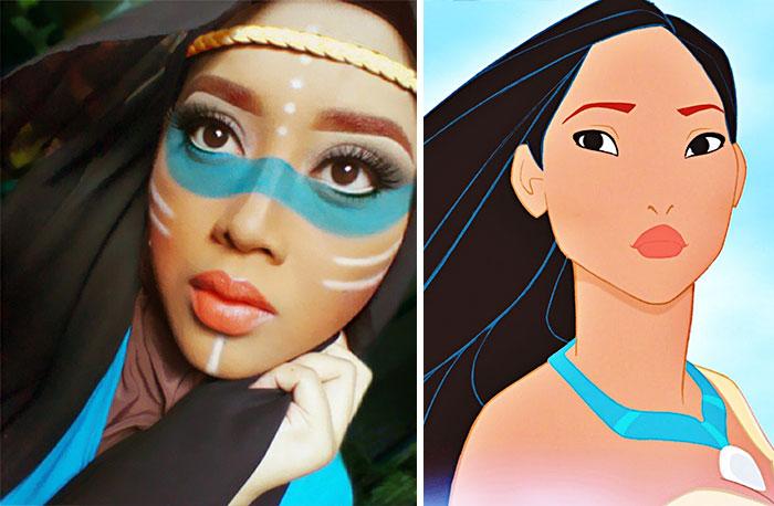 Disney Maquillaje Princesas (2)