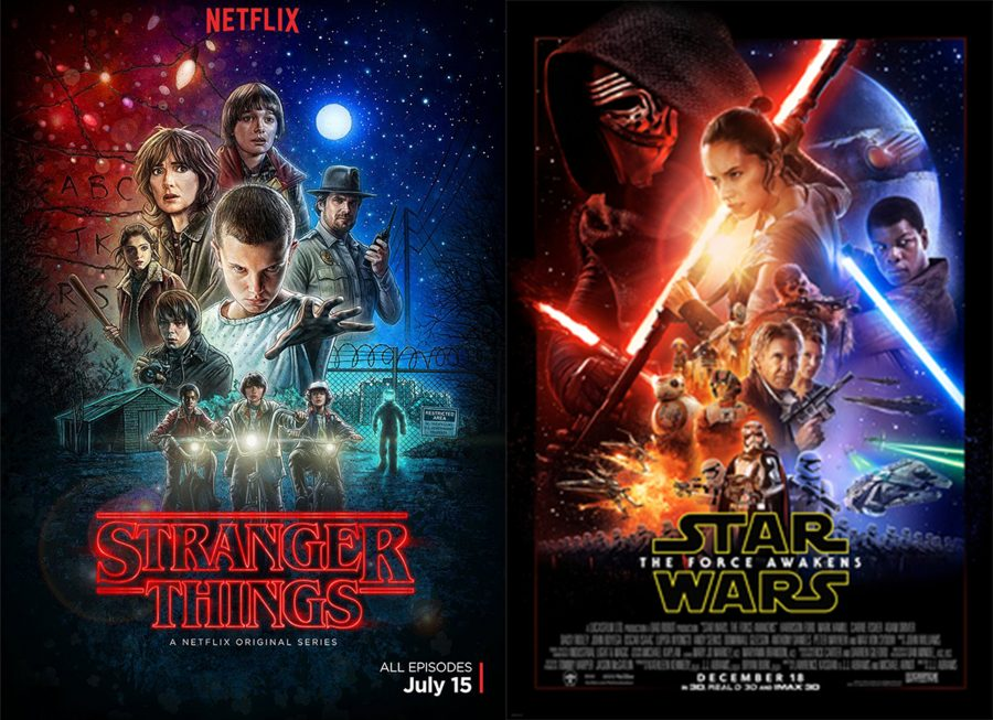 star wars and stranger things