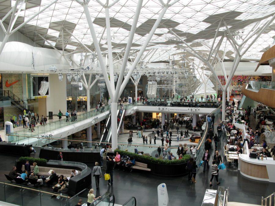 Main Atrium Westfield London | via:  wikipedia.org