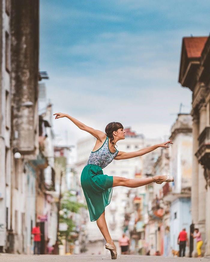 La habana y sus bailarines de ballet
