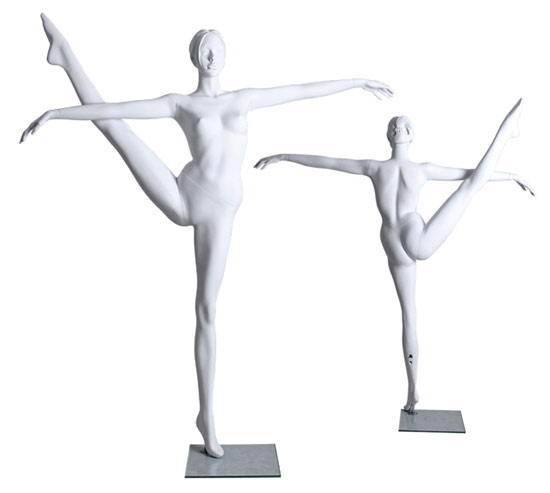 standing ballet dance pose