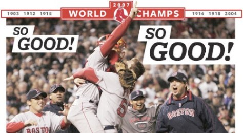 Boston.com Photo - World Series
