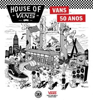 Arte do Thiago para a Vans!