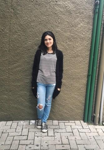 Patrícia Carvalho, estudante de Jornalismo