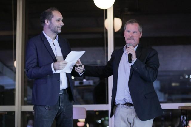 Chani Guyot y Juan Carr fueron los anfitriones de la noche