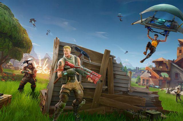 Fortnite Battle Royale es el spin-off multijugador de Fortnite. | Foto: Epic Games