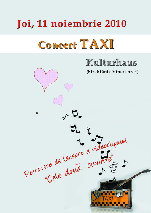 Concert Taxi, in Kulturhaus