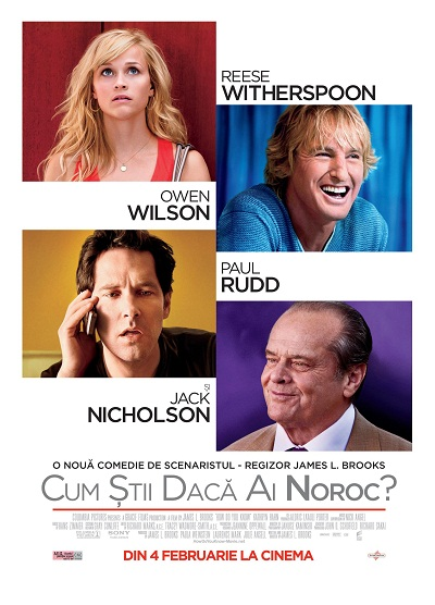 Invitatie la Film | Trailer - How do you know (Cum stii daca ai noroc)