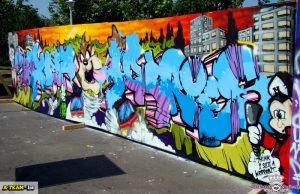 "Cultura urbana "" o face legal"" la Street Heroes"