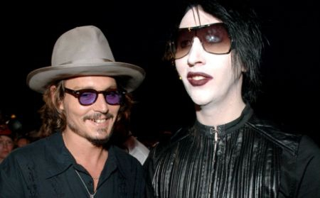 Johnny Deep canta alaturi de Marilyn Manson