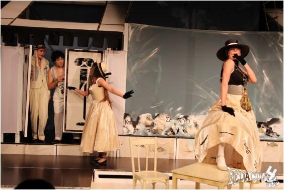 teatrul masca- militarul fanfaron
