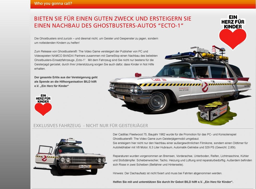 Ghostbustersmobil Ecto 1 Bei Ebay Zu Kaufen Redaktion42