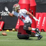 Niners step up preparations for Vikings