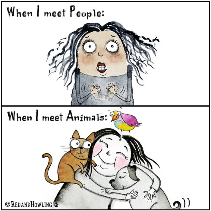 People vs. Animals