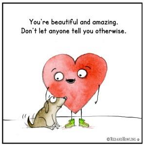 You're Beautiful…