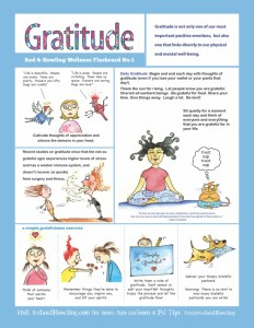 Wellness Flashcard 1: Gratitude