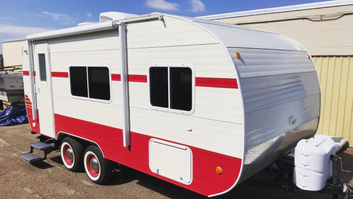 How house hunting turned into buying a camper