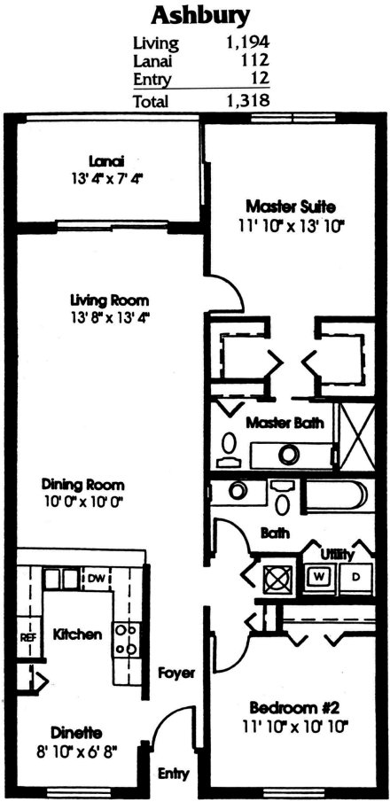 Heritage Palms Floor Plans